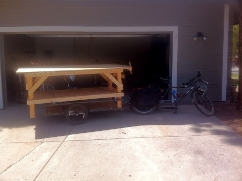My 4'x8' workbench